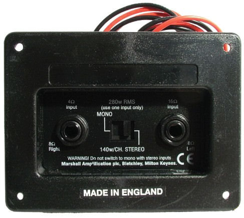 jack plates & front panels 1 4 mono jack wiring click on photo for